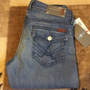 NWT 7 for All Mankind Rocket Slim Bootcut Jeans